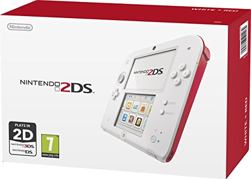 Nintendo 2DS - Scarlet Red / White (Renewed)