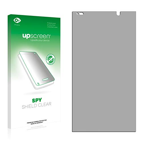 upscreen Anti-Spy Blickschutzfolie kompatibel mit HP Slate 6 VoiceTab II Privacy Screen Sichtschutz Bildschirmschutz-Folie
