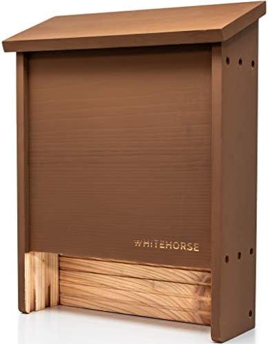 WHITEHORSE Premium Cedar Bat House A 2 Chamber Bat Box That is Built to Last Enjoy a Healthier product image