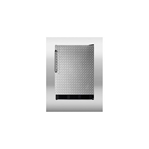 Summit CT66BBIDPL Refrigerator, Silver