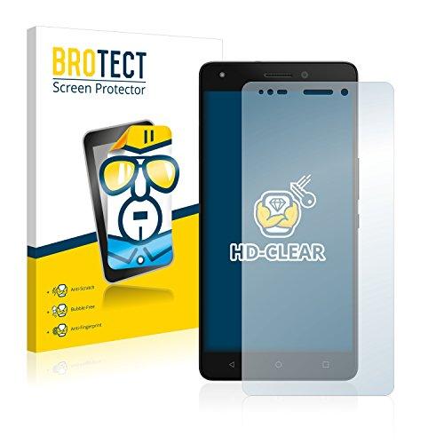 BROTECT Schutzfolie kompatibel mit BQ Aquaris M5.5 (2 Stück) klare Bildschirmschutz-Folie