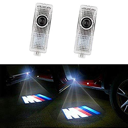 Autotür Logo Licht Auto Geist Schatten Projektor Tür Lampe, für E90 E91 E92 E93 M3 E60 E61 F10 F07 M5(2 Stück)
