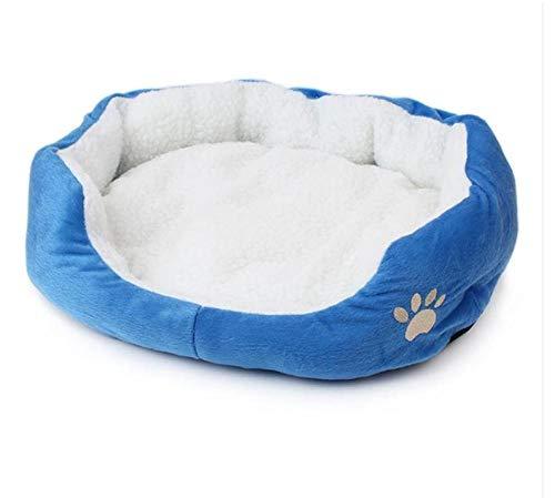 Zachte fleece hond kat bed winter warm nest huisdier huis goedkope kennel indoor slaaphuis puppy bed
