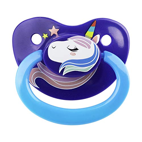 TEN@NIGHT Christmas Adult Sized Pacifier Silicone Cute Printing Animal
