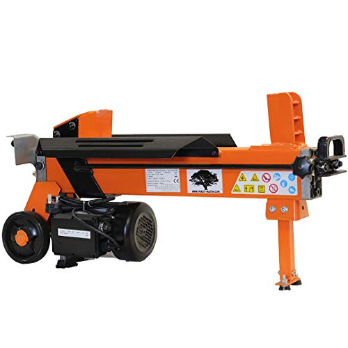 Heavy Duty Electric Log Splitter Hydraulic Wood Cutter 7 TON with DUOBLADE