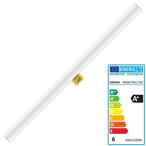 Osram LEDinestra, mit S14d-Sockel, nicht dimmbar, Ersetzt 40 Watt, Matt, Warmweiß - 2700 Kelvin, 1er-Pack