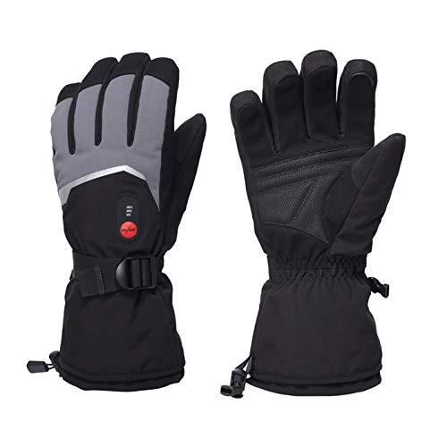 Guantes Calefactables Eléctricos Recargable Guantes con calefacción recargables, guantes de motocicleta con...