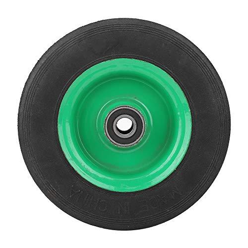 OKBYY Hjul massiva däck – explosivt tätt däckslitstarkt 15 cm hjuldäck industriell kvalitet vagn vagn solid däck 100 kg