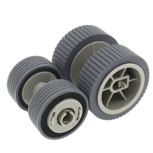 S-Union Replacement Scanner Brake and Pick Roller Pickup Roller Set for 6125 6225 6130Z 6230 6140 6240 6120 Fi-6125 Fi-6225 Fi-6130Z Fi-6230 Fi-6140 Fi-6240 Fi-6120 Part NO: PA03540-0001