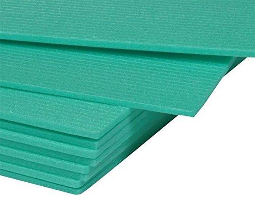 50 m² Trittschalldämmung Dämmung 5mm - XPS Green Boden für Laminat Parkett