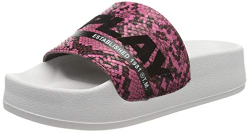 Replay Damen New Lotty-WILKYE Pantoletten, Pink (Fuxia 25), 36 EU