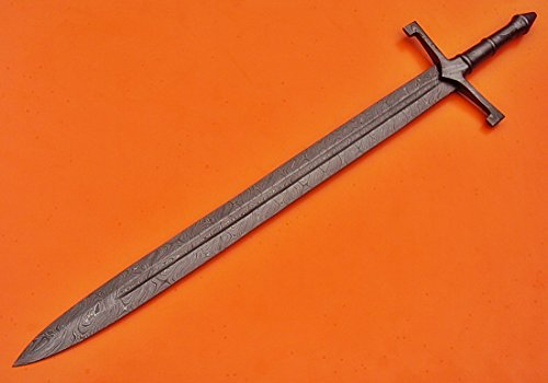 Poshland SW-99 Handmade Damascus Steel 32.2 Inches Urfael Sword - Great Piece of Art