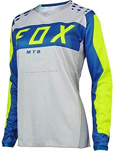 Maillot MTB para Hombre de Manga Larga Women Downhill Jerseys Fox MTB...