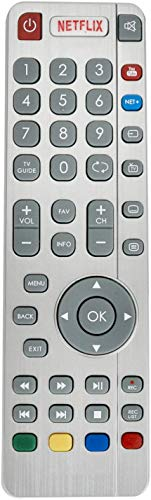 ALLIMITY SHWRMC0116 Remote Control Replaced for Sharp Aquos UHD 4K 3D...