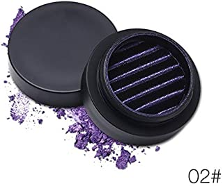Oddalsai 3D Magnet Monochrome Eye Shadow Palette Shimmer Glitter Eye Shadow Powder 2#