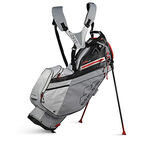 Sun Mountain 2021 4.5LS Golf Stand Bag (Carbon-RED)