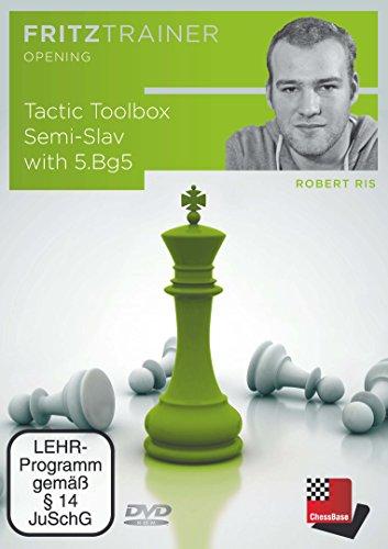 Price comparison product image Tactic Toolbox Semi-Slav with 6. Bg5 - Robert Ris