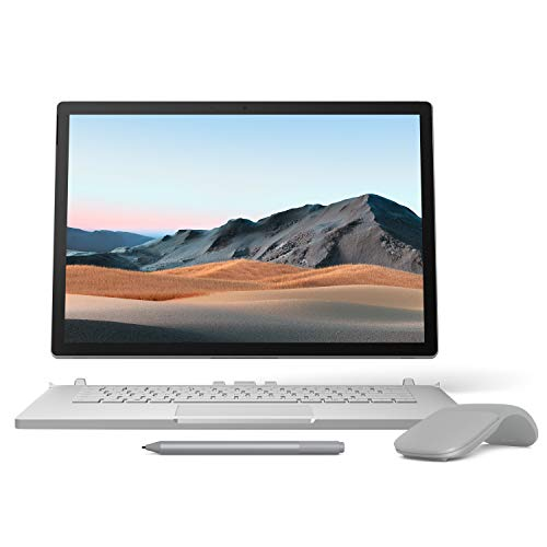 【Microsoft ストア限定】3点セット: Surface Book 3 (Core i7/32GB/512GB) + Surface Arc Mouse (グレー) ...