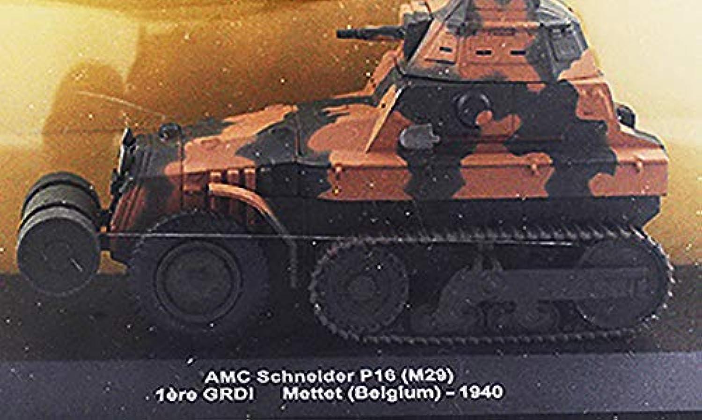 FLOZ AMC Schneider P16(M29) 1ere GRDI Mettet(Belgium)1940 1 43 DIECAST MODEL TANK