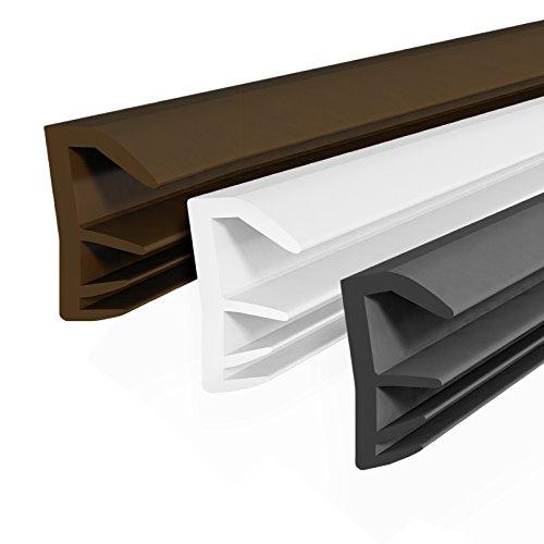 [DQ-PP] 10m Flügelfalzdichtung schwarz Falzdichtung SFD-14 Fensterdichtung Holzfenster Holz Dichtung
