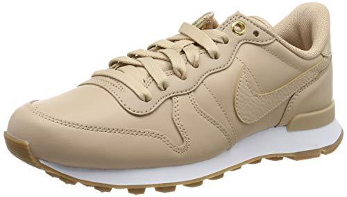 Nike Damen W Internationalist PRM Laufschuhe, Beige (Bio Beige/Bio Beige/White/Gum Med Brown 206), 39 EU