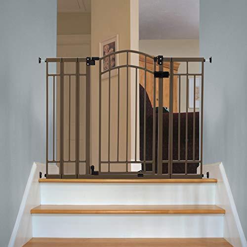 Summer Infant Multi-Use Deco Extra Tall Walk-Thru Gate, Bronze (28.5 - 48 Inch)