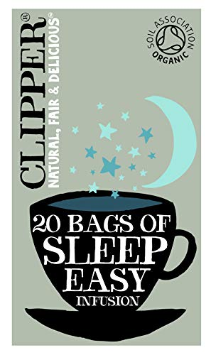 Clipper Organic Sleep Easy Infusion 20 Teabags (Pack of 6, Total 120 Teabags)