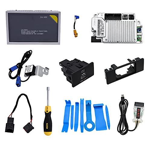 2021 SYNC3.4 Complete MyFordTouch SYNC 2 to SYNC 3 Upgrade Kit for Ford 8 Inch Capacitive Touchscreen SYNC 3 APIM Module USB Interface Module w/Carplay GPS Navigation Antenna