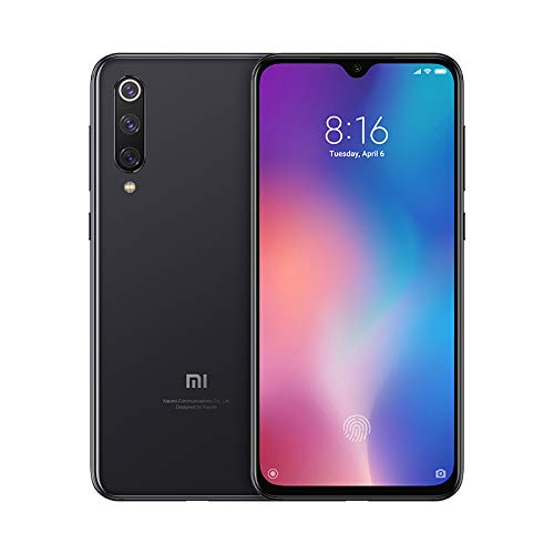 Xiaomi MI 9 SE Smartphone, 64GB, Display FHD+ da 5.97'', Qualcomm Snapdragon 712, Fotocamera da 48 MP, Risoluzione Ultra High, Nero (Piano Black) [Versione Italiana]