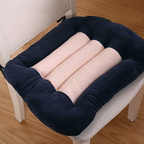 Yingying Gestoffeerde dikke kussens voor stoelen, kussen voor op kantoor, gestoffeerd, quilted design, autostoelen voor buiten, met elastische stoelen zonder vervorming