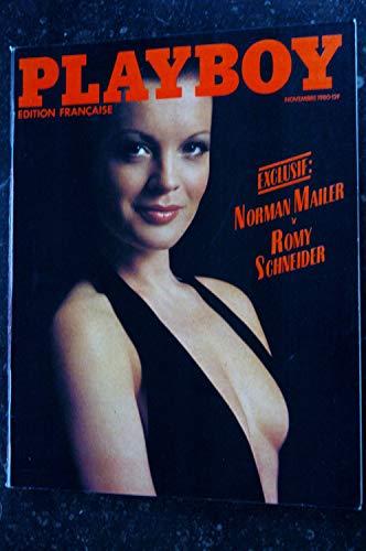 PLAYBOY 084 NOVEMBRE 1980 COVER ROMY SCHNEIDER INTEGRAL NUDE NORMAN MAILER KEITH RICHARD JEANA TOMASINO