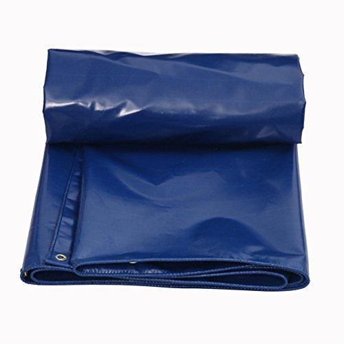 JIANFEI Plane Wasserdicht Regenfest Gute Härte Verschleißfest Anti-Aging-PVC, Dicke 0,45 Mm Kann Angepasst Werden (Farbe : Blue, größe : 2.8x2.9m)