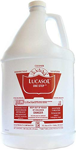 Lucasol™ One Step Hospital Grade Disinfectant – Gallon