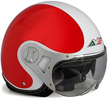 AVE A-15 Valiant Cheap bargain Italy We OFFer at cheap prices Open Motorcycle Shield Face Helmet with