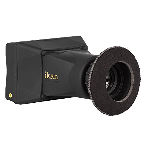 IKAN EVF35-KIT 8,9 cm (3,5 Zoll) 4K Support HDMI Electronic View-Finder LCD Monitor Kit schwarz