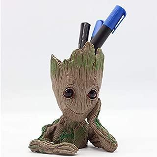 Baby Groot Pen Holder, Flowerpot Perfect for Tiny Succulent Plants, Indoor Flowerpot Planter, Home Decor, Best Gift Idea 6''