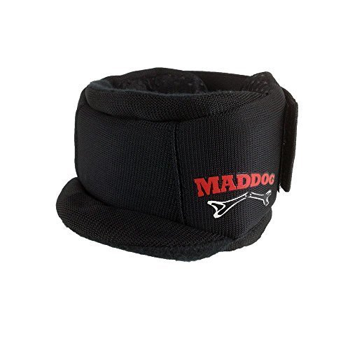 Maddog Pro Padded Paintball Neck Protector - Black by Maddog Sports