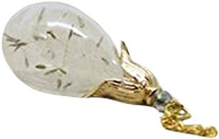 Hengyuan tian cheng Collier en or avec pendentif pissenlit pour demoiselles d'honneur, collier à souhait, pissenlit