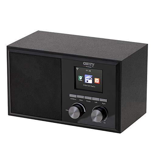 CAMRY CR 1180 DAB Internetradiogerät mit über 20 000 Sender, LCD-Anzeige, Radiogerät mit Wi-Fi-Verbindung, Wetterbericht, doppelter Wecker