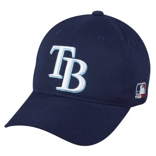 new concept 3bffc 8251e Tampa Bay Rays YOUTH (Ages Under 12) Adjustable Hat MLB Officially Licensed  Major League