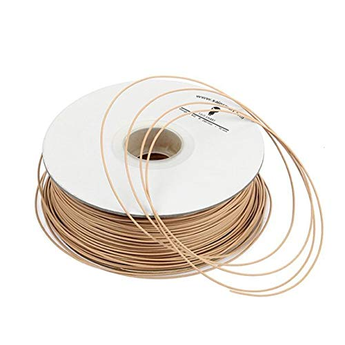 KANJJ-YU 3D Printer Accessories, SainSmart Imported Light Brown Wood Filament 1kg/2.2lb for 3D Printers Reprap, Afinia, Solidoodle 2, Printrbot LC, MakerGear M2 and UP! (Afinia H-Series) Motherboard ,