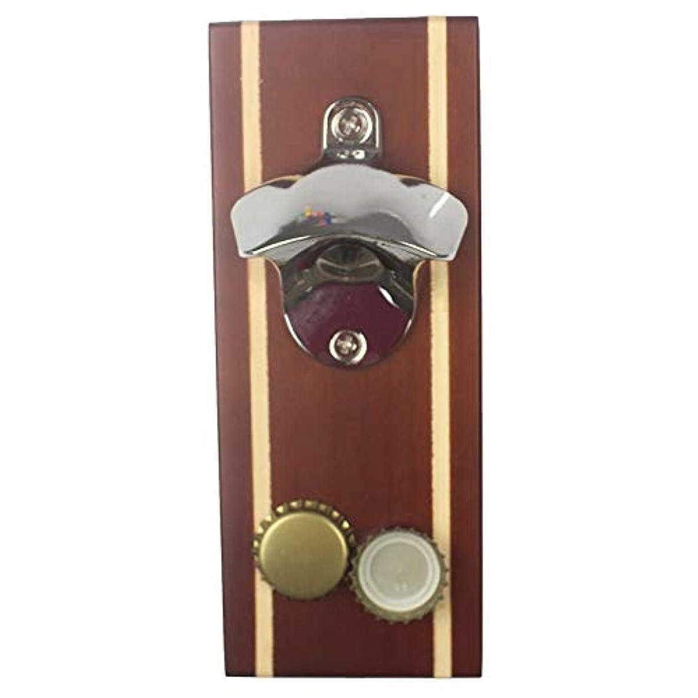 Magnetic Bottle Opener for Refrigerator, Bottle Opener Magnet for Fridge, Bottle Cap Magnet (White red)