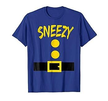 Dwarf Costume T-Shirt - Funny Halloween Gift Idea - Sneezy