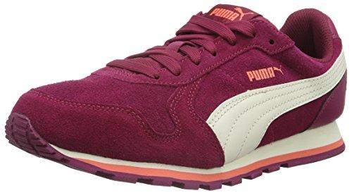 Puma St Runner Sd Jr Scarpa da Running, Unisex Bambino, Rosa (Red Plum/Whisper White/Porcelain Rose), 37 EU