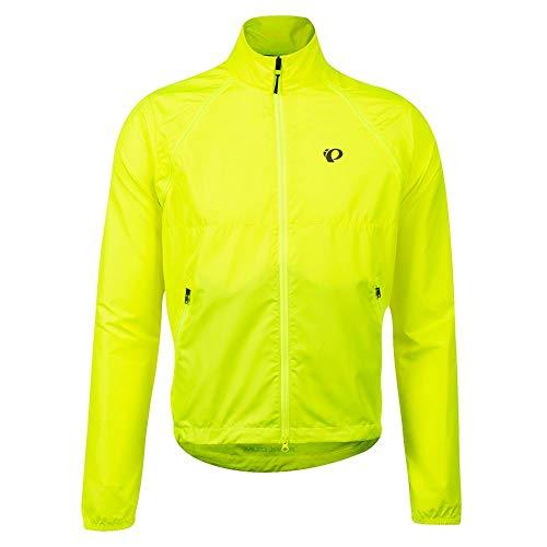 PEARL IZUMI Men's Quest Barrier Convertible Jacket, Screaming Yellow, Medium