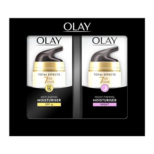 Olay Total Effects Feuchtigkeitscreme für Tag und Nacht, 37 ml