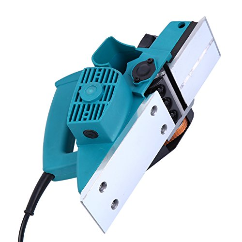 Yonntech 800W Powerful Electric Wood Hand Planer 3-1/4-Inch Planer Woodworking Surface Hand Held Accurate Smooth Door Planer Machine for Carpenter 110V