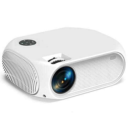 Release Proyector de Video LED P58,3500 lúmenes Soporte de Cine en casa Dolby AC3 Sound Full HD 1080P Mini Video Beamer (Color : Sync Version)