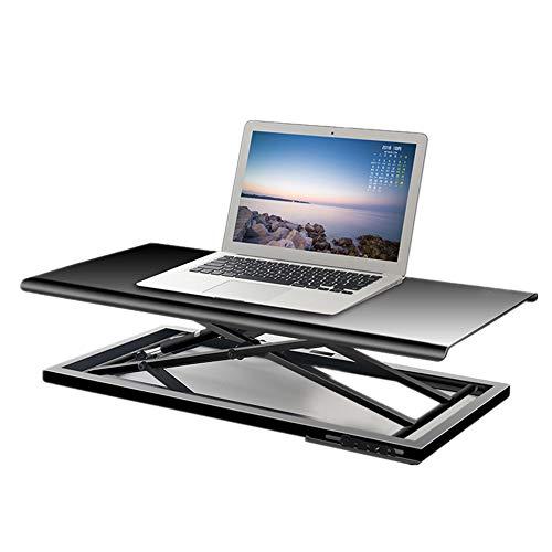 KIKIRon Laptopständer PC-Arbeitsplätze Höhenverstellbarer tragbaren Laptop Lap Desk Folding Laptop-Schreibtisch-Monitor und Laptop Riser-Plattform Workstation Schreibtischaufsätze