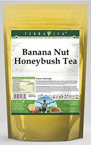 Banana Nut Honeybush Tea 25 tea OFFicial site Outlet ☆ Free Shipping 3 bags 538144 ZIN: Pack -